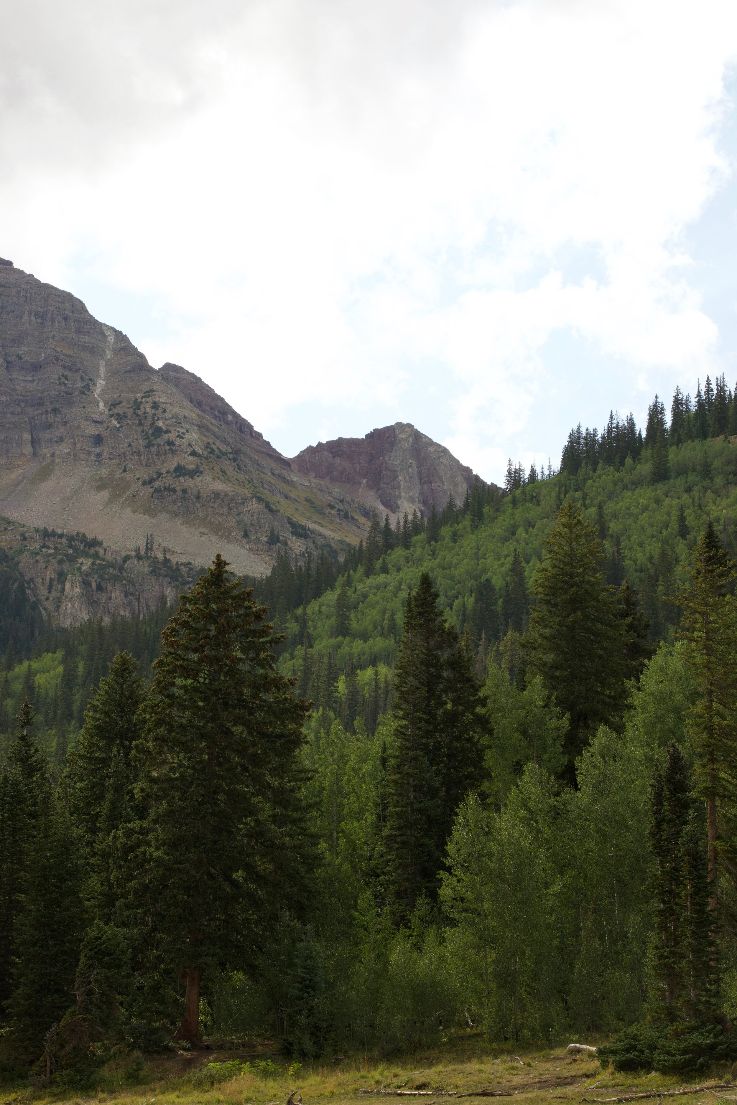 The Maroon Bells at Crater Lake