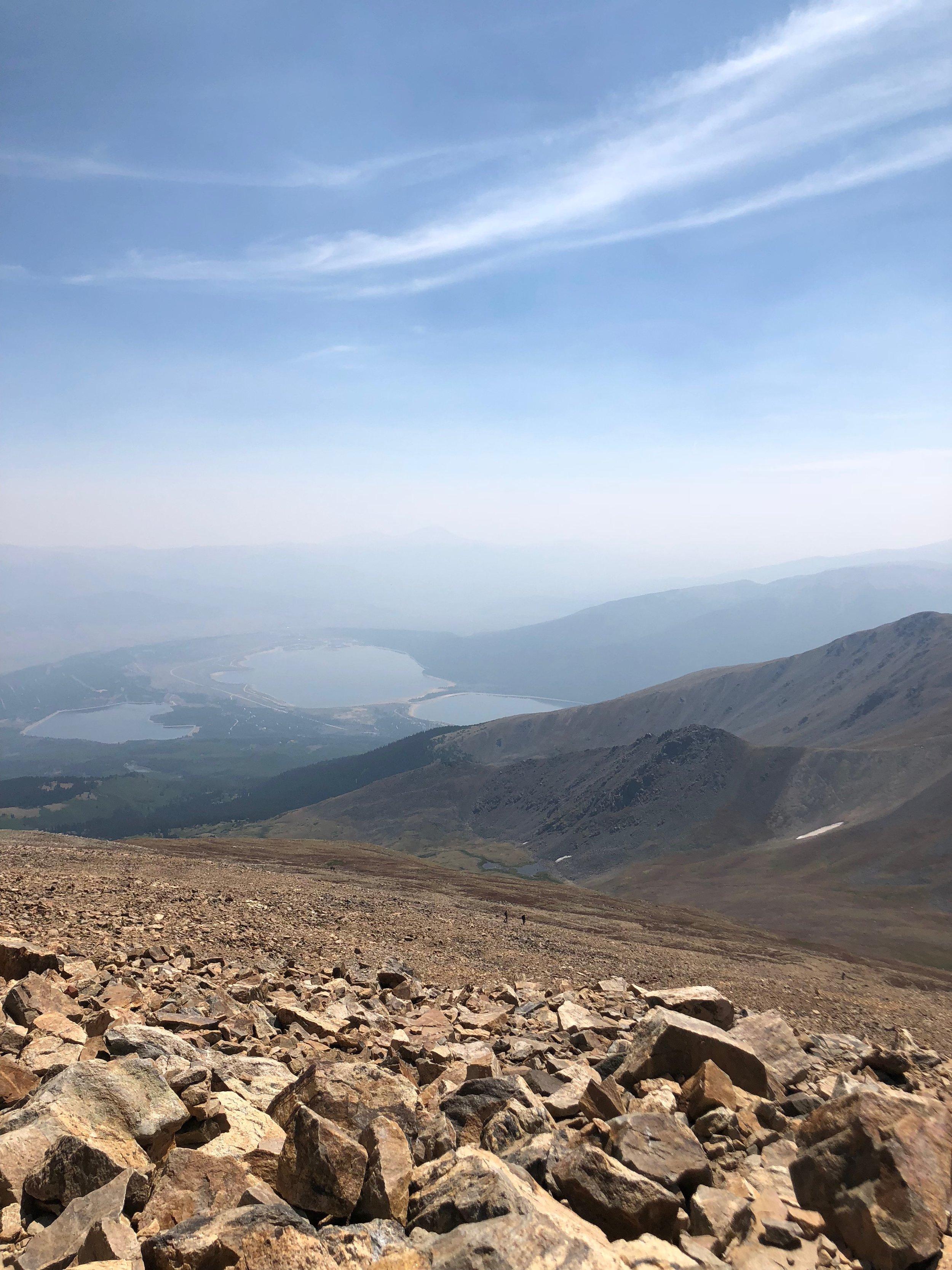 On the way up Mt. Elbert