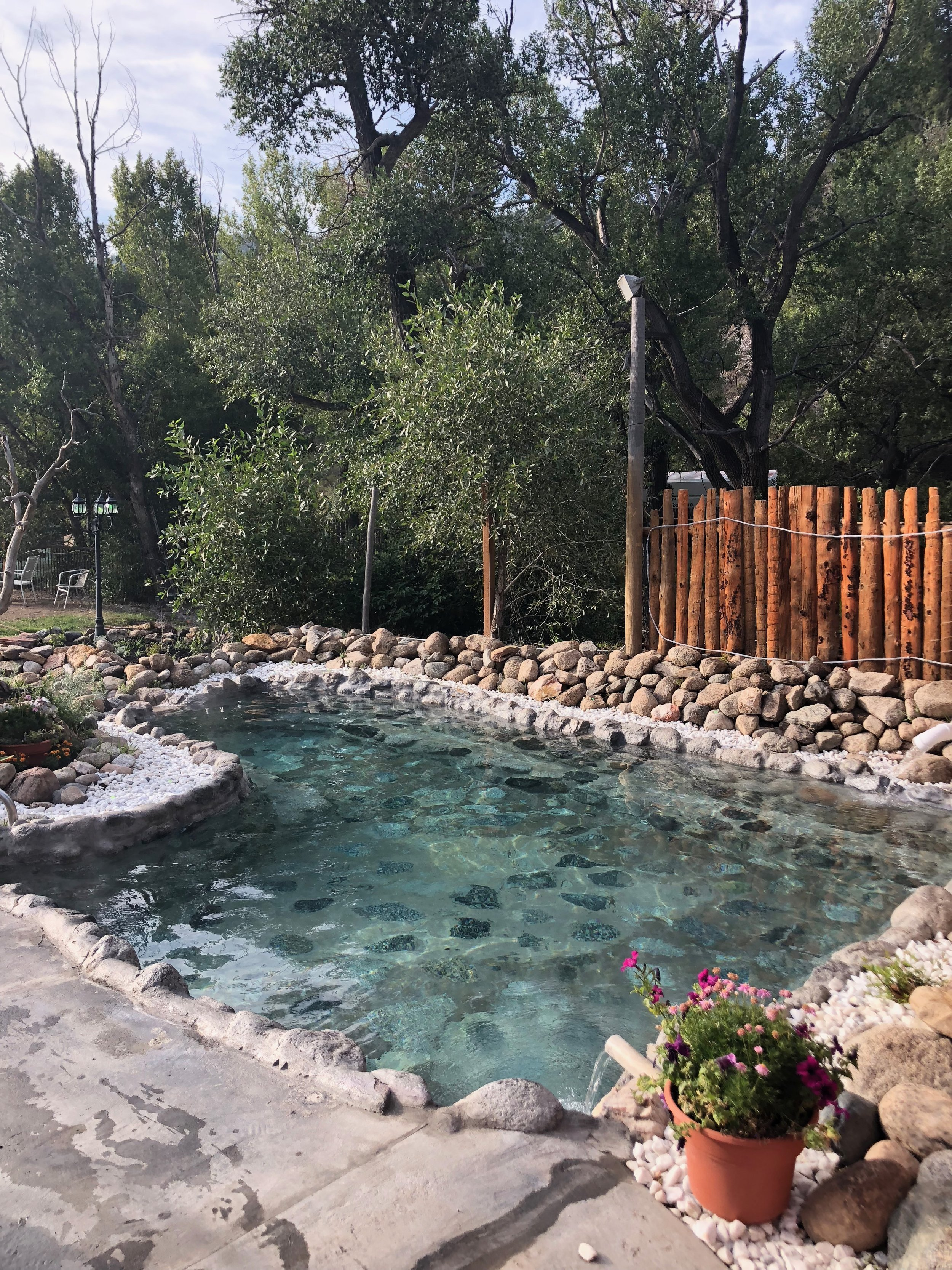 The rock pools at  Cottonwood Hot Springs . This one was the hottest!