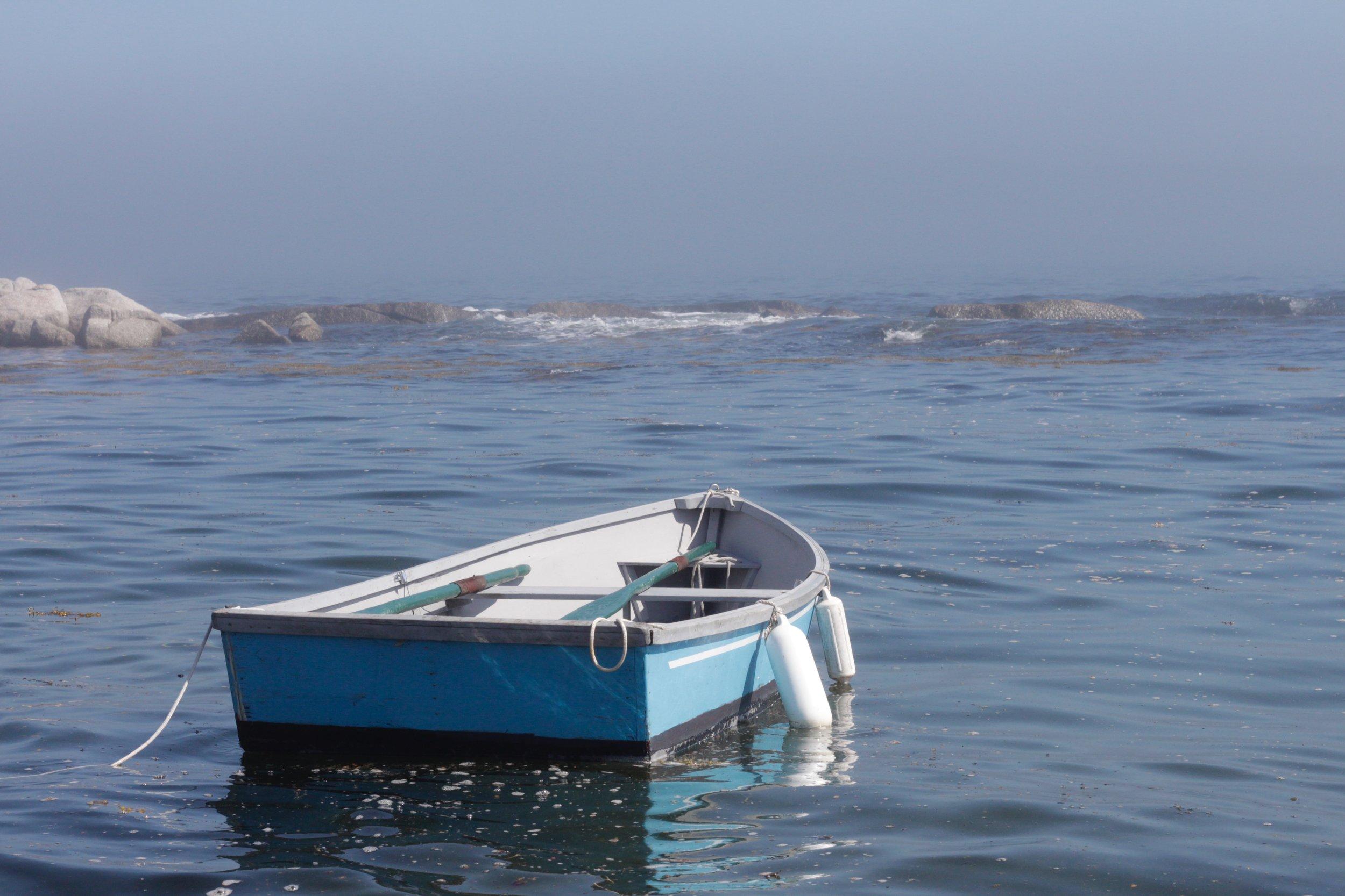 the skiff at Terence Bay