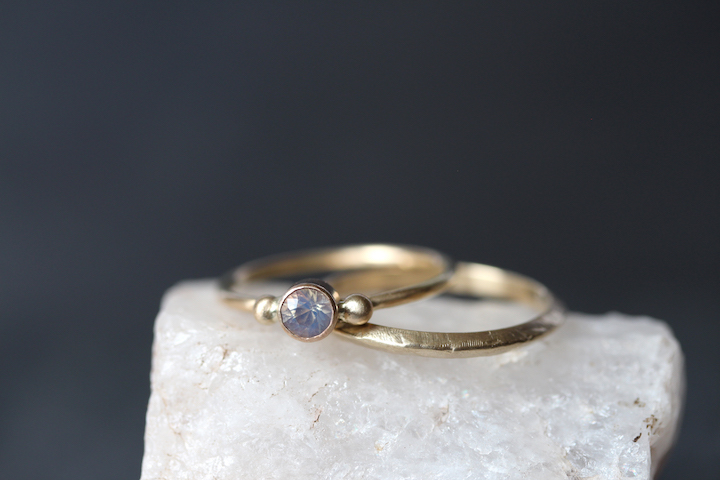 the  Grand Pré Opal  and  Ridge  rings