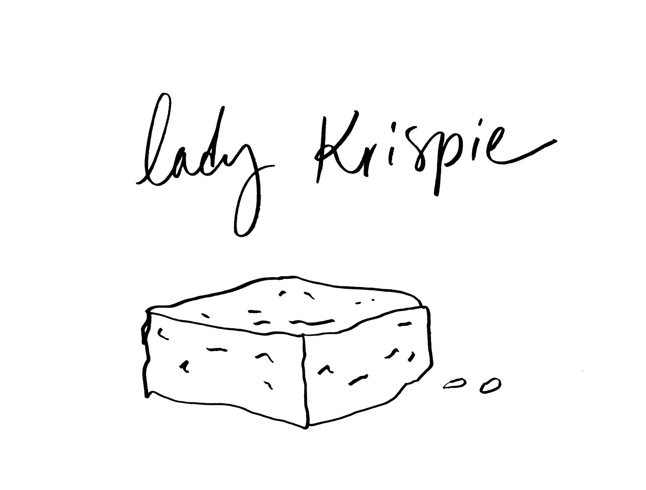 logo design for  Lady Krispie