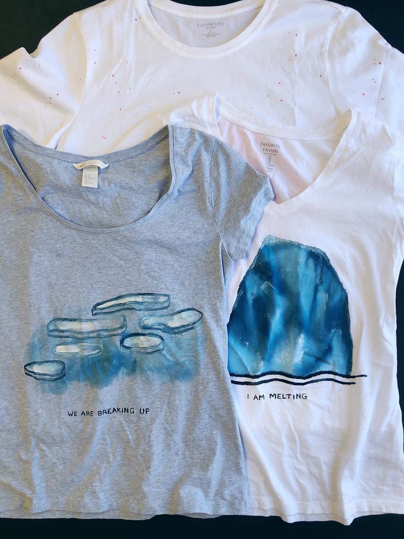 climate change t-shirts - rebecca mir grady