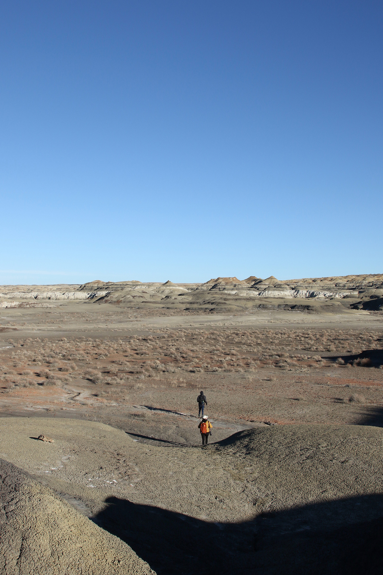 Mary and Sonia in the Bisti