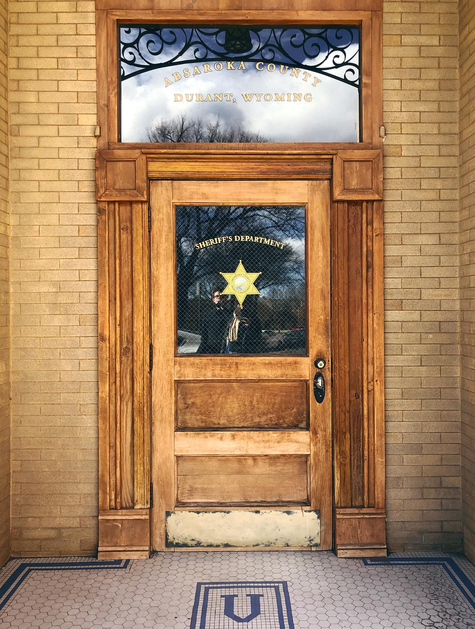 The famed door from Longmire
