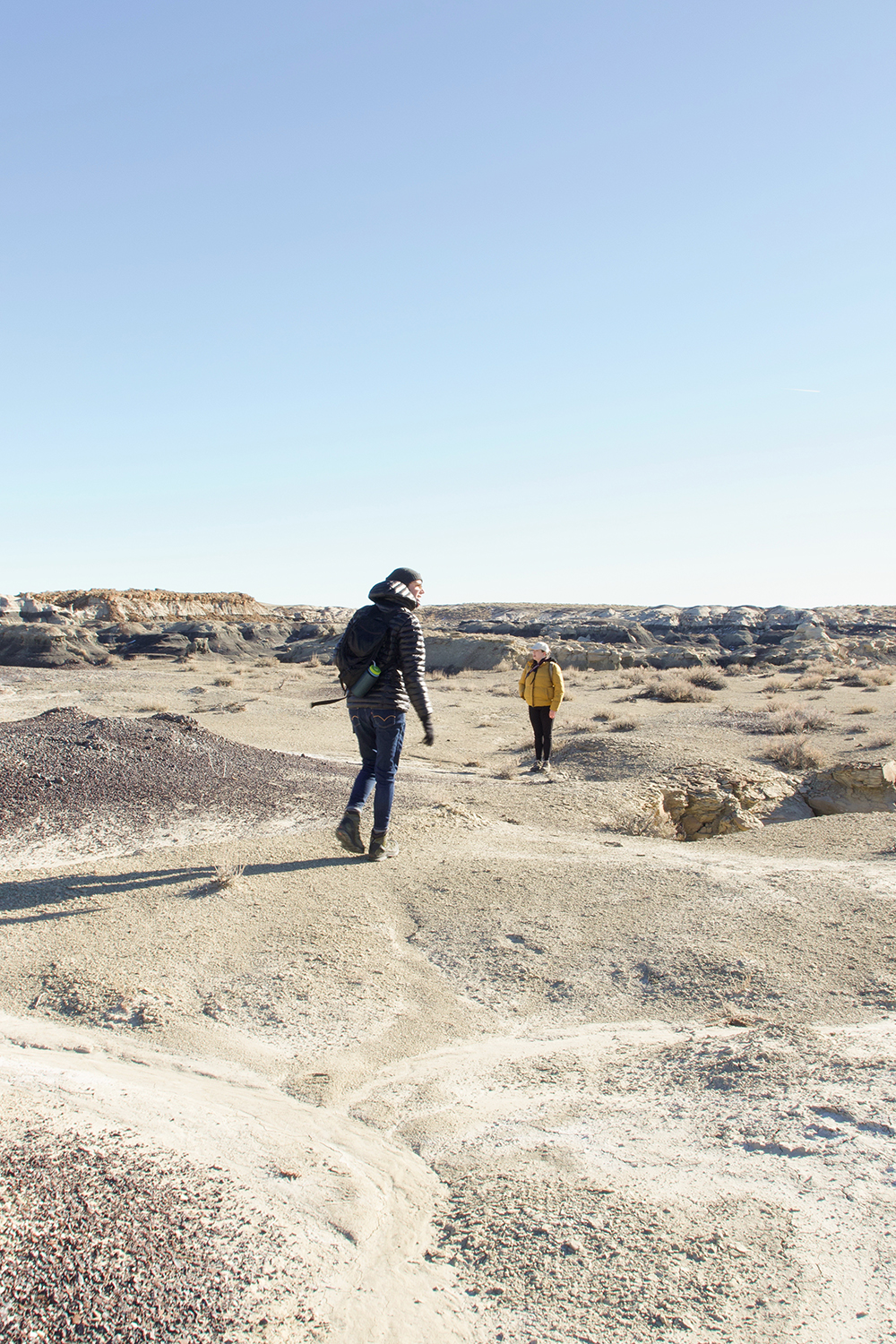 Into the Bisti De-Na-Zin Wilderness Area