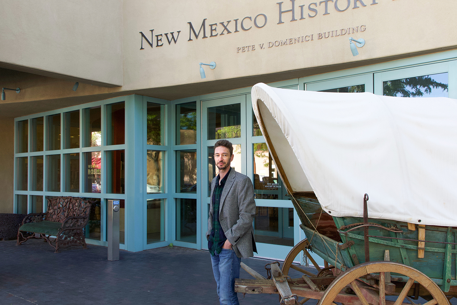 Turner Mark Jacobs at the New Mexico History Museum