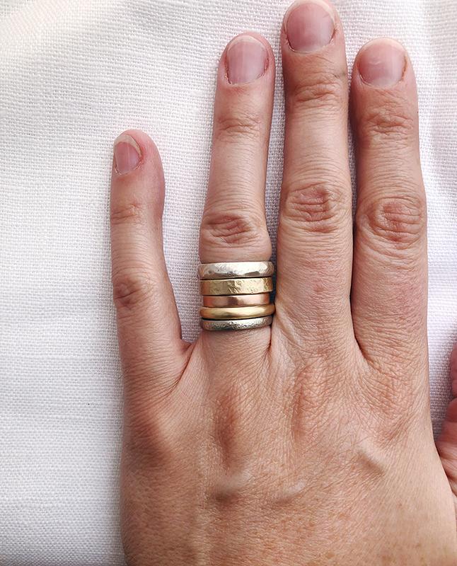 choosing handmade wedding bands
