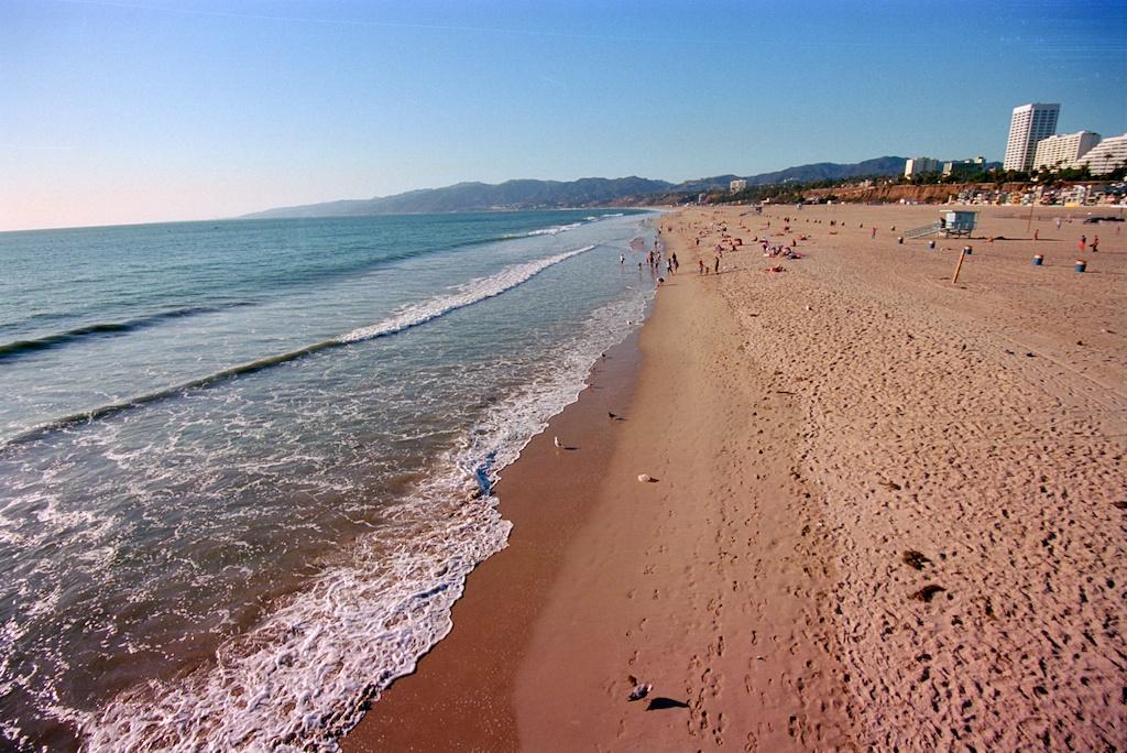 Santa Monica Pier Kodak Ektar  005