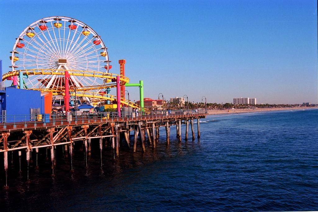 Santa Monica Pier Kodak Ektar  008