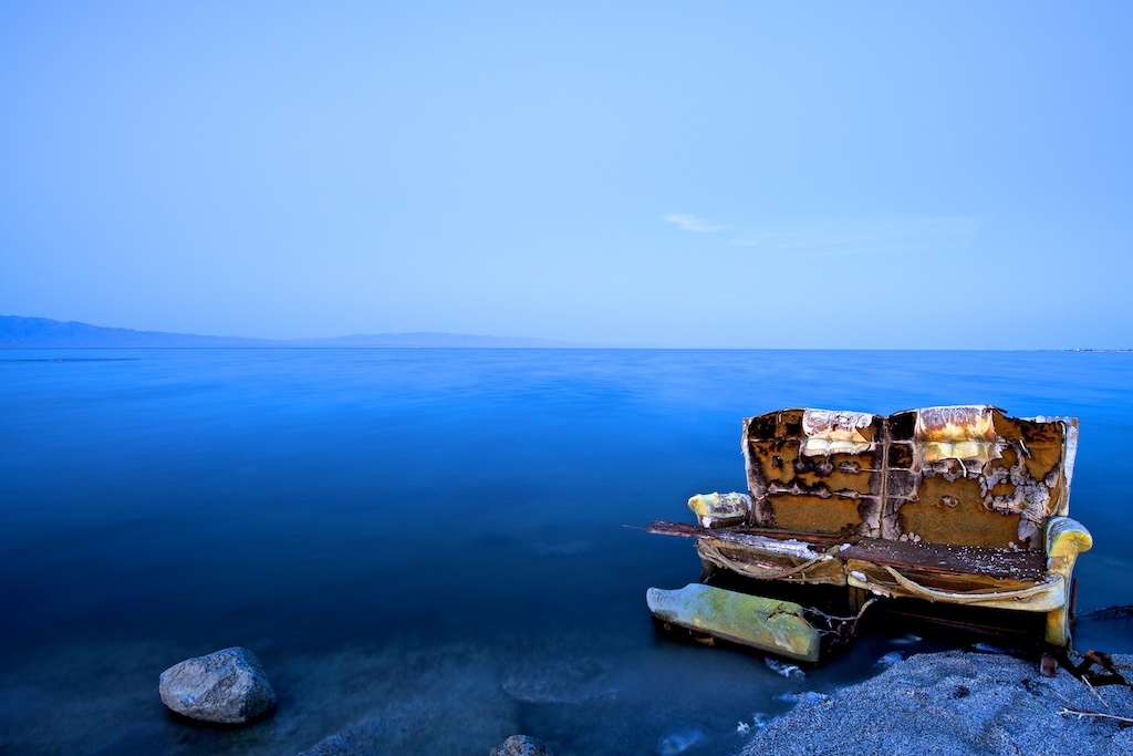 Royal Blue - Salton Sea California