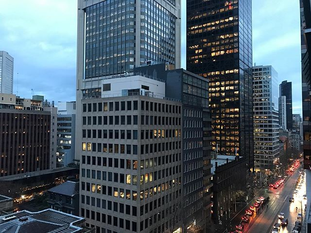 Australia: Day 3. Today was another travel day, we flew from Melbourne to Carins. Tomorrow we get to see a natural wonder of the world, the Great Barrier Reef. This is the view from our swanky hotel in Melbourne which we left early this morning. I'm really excited for tomorrow! #shotoniphone #nofilter #melbourne #iphoneonly #iphone7plus