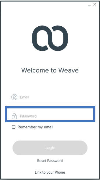STEP 2 - Enter the password you have set up for your account.