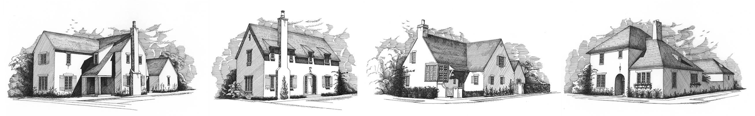 Hampstead Homes Illustrations