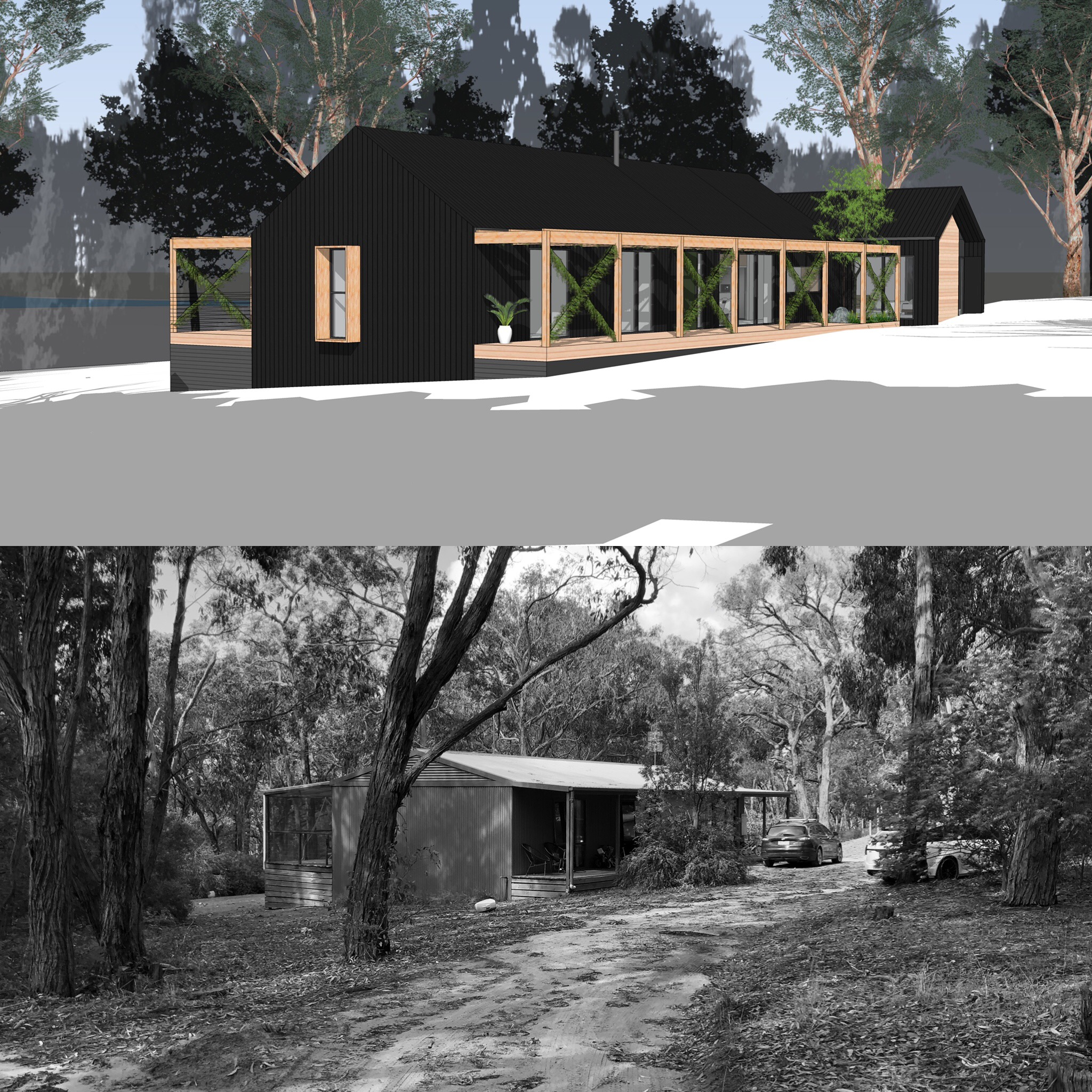 Concept Design - Before & After…