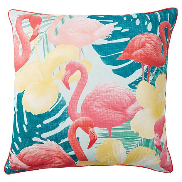 Target  Flamingo Outdoor Cushion $25