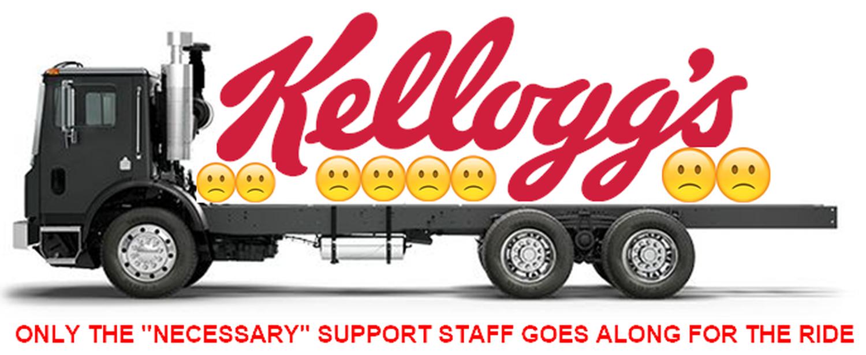 Am I Next? Kellogg's Job Loss