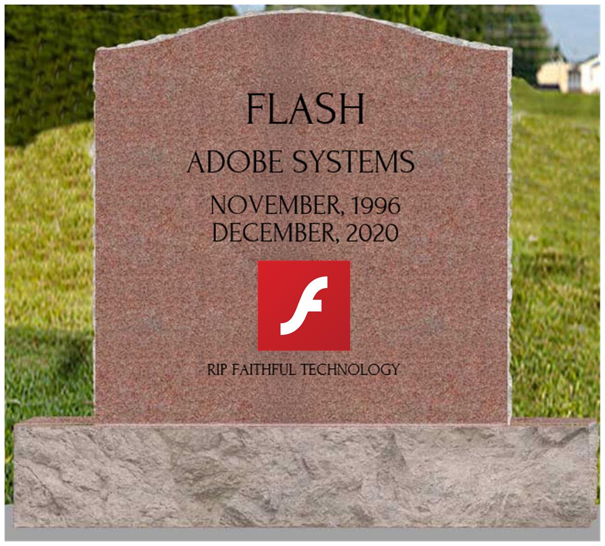 Am I Next? Adobe Flash End of Life 2020