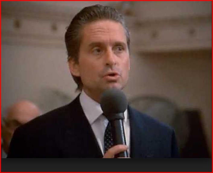 Am I Next? Gordon Gecko Speech from Wall Street