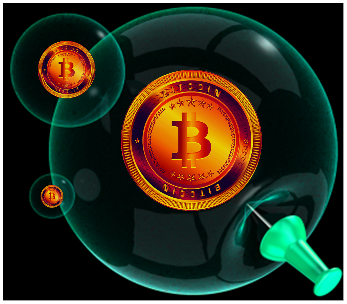 Am I Next? Bitcoin, the threat of electronic currency.