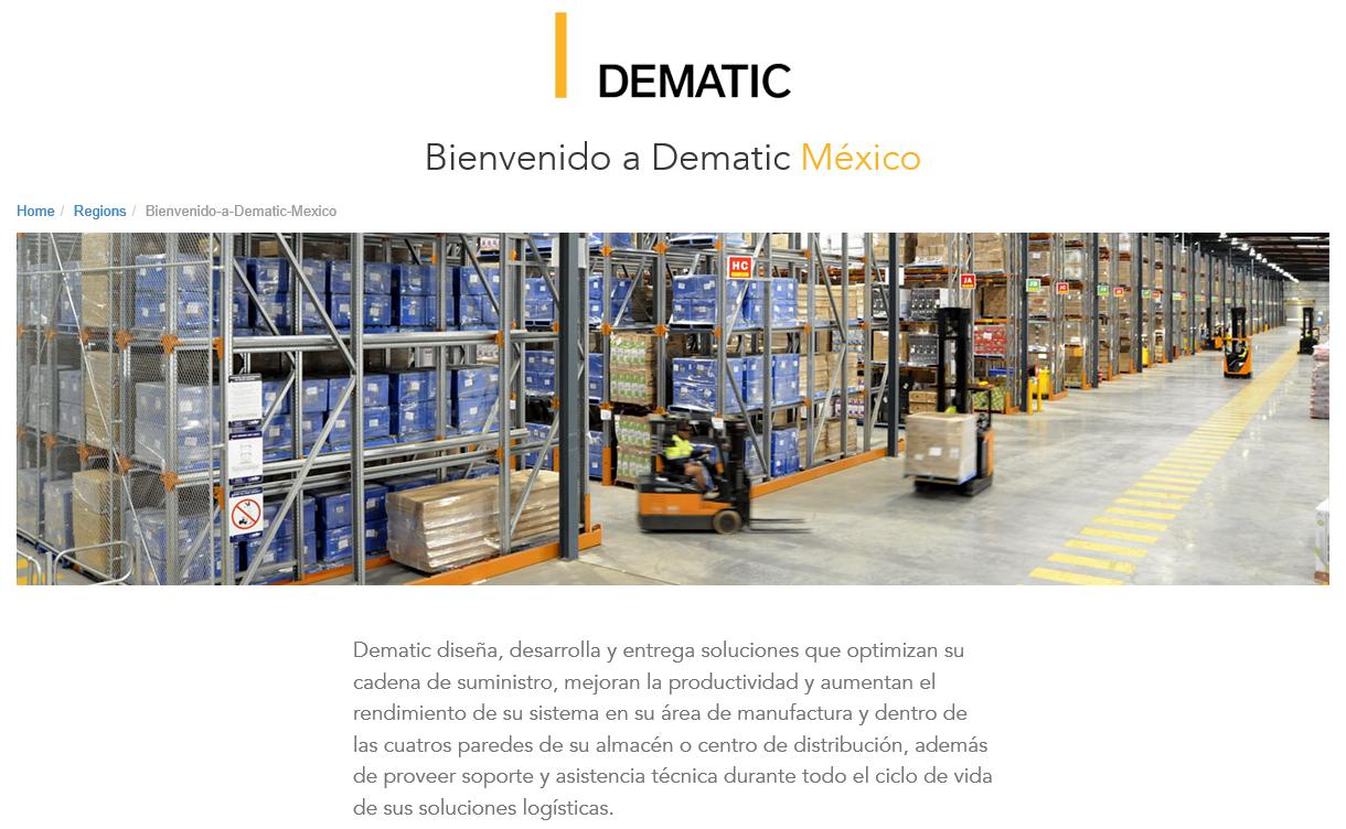 Am I Next? Dematic - Mexico
