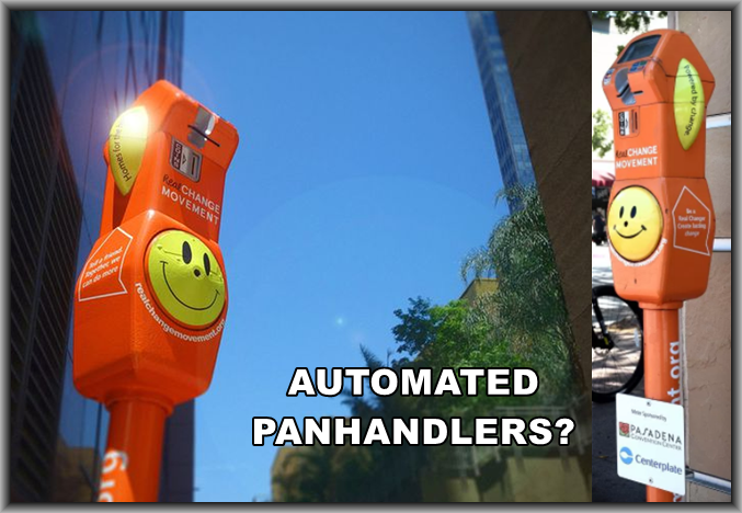 Am I Next? Re-purposing Parking Meters for Charity