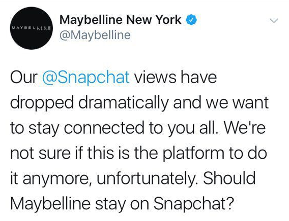 Am I Next? Maybelline: Is Snapchat a viable engagement platform?