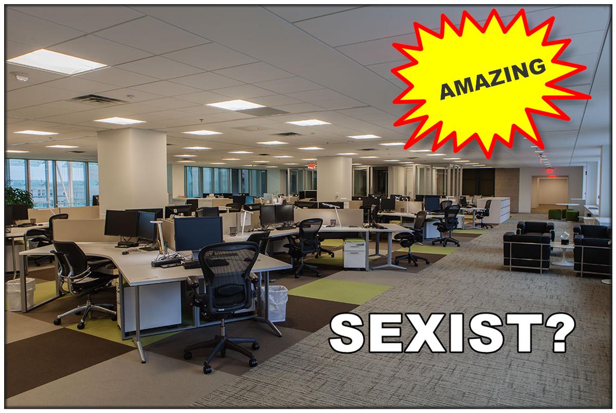 Am I Next? Can an open office plan be sexist?