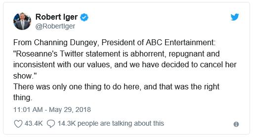 Am I Next? Bob Iger's Tweet