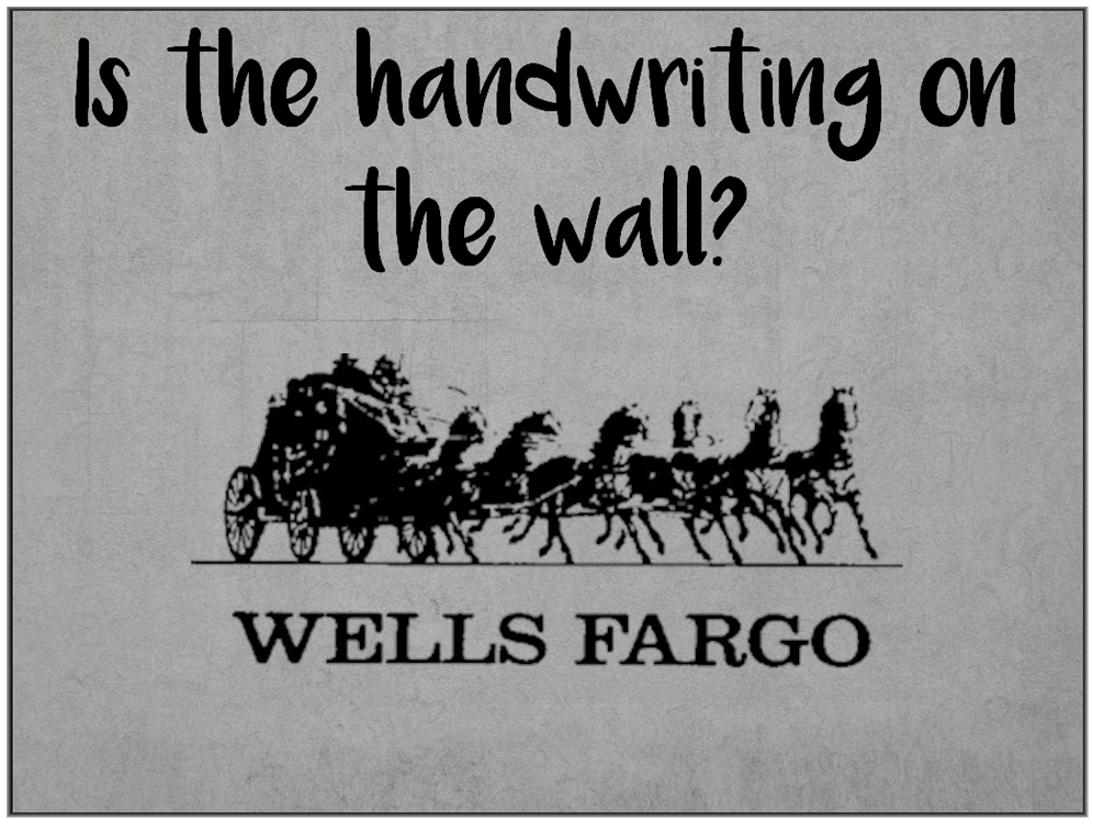 Am I Next? Mass Layoffs in Wells Fargo future.