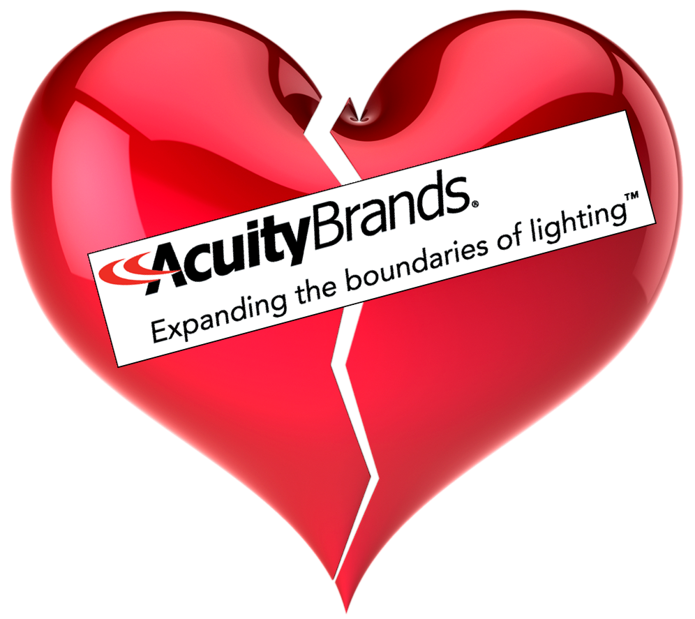 Am I Next? Acuity Brands Lighting to lay off 298 workers in Des Plaines, Illinois.
