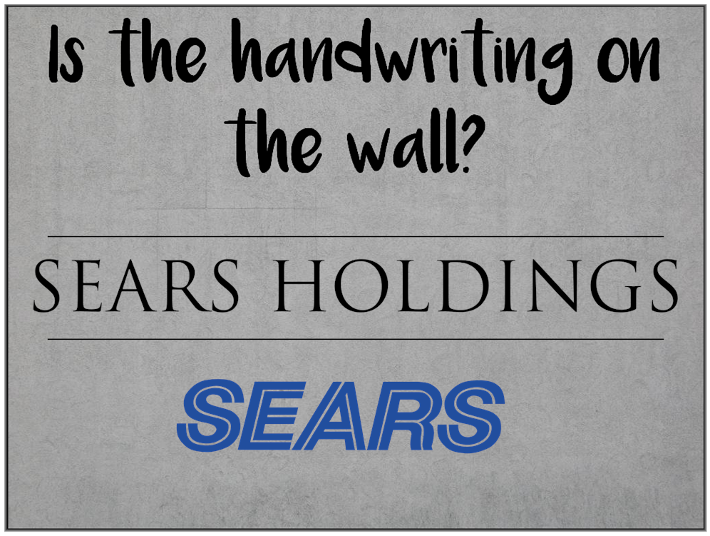 Am I Next? Is Sears bankruptcy pending?