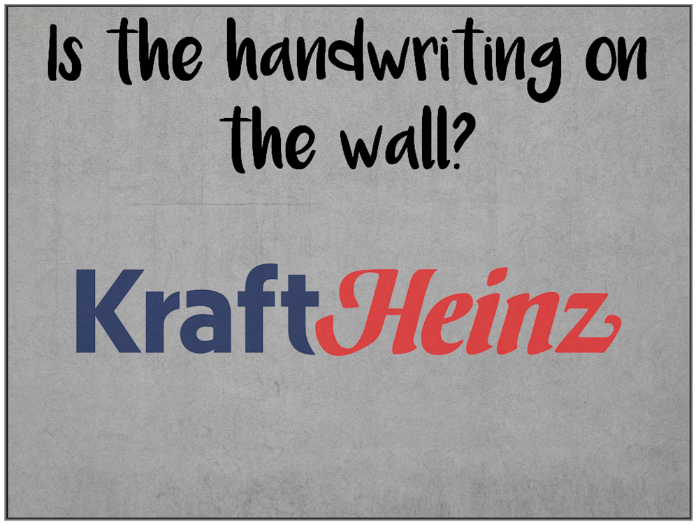 Possible mass layoffs at Kraft Heinz.