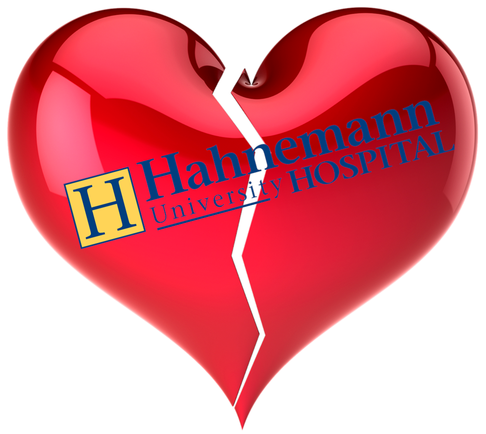 Am I Next? Layoffs as Hahnemann Hospital runs out of cash.