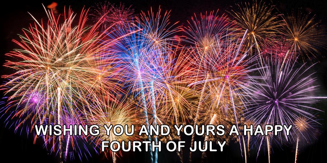Happy Fourth of July.