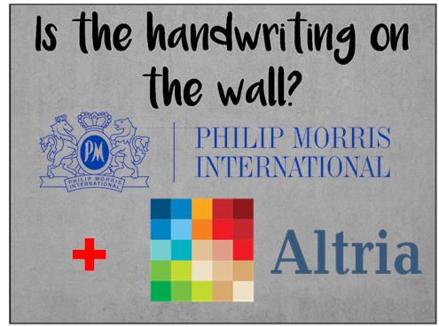 Am I Next? Altria and Phillip Morris Merger?