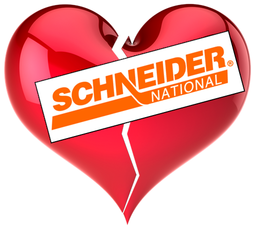 Am I Next? Schneider National shutters home delivery service.