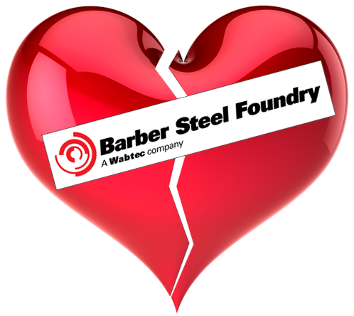 Am I Next? Barber Steel Foundry to close with 61 layoffs.