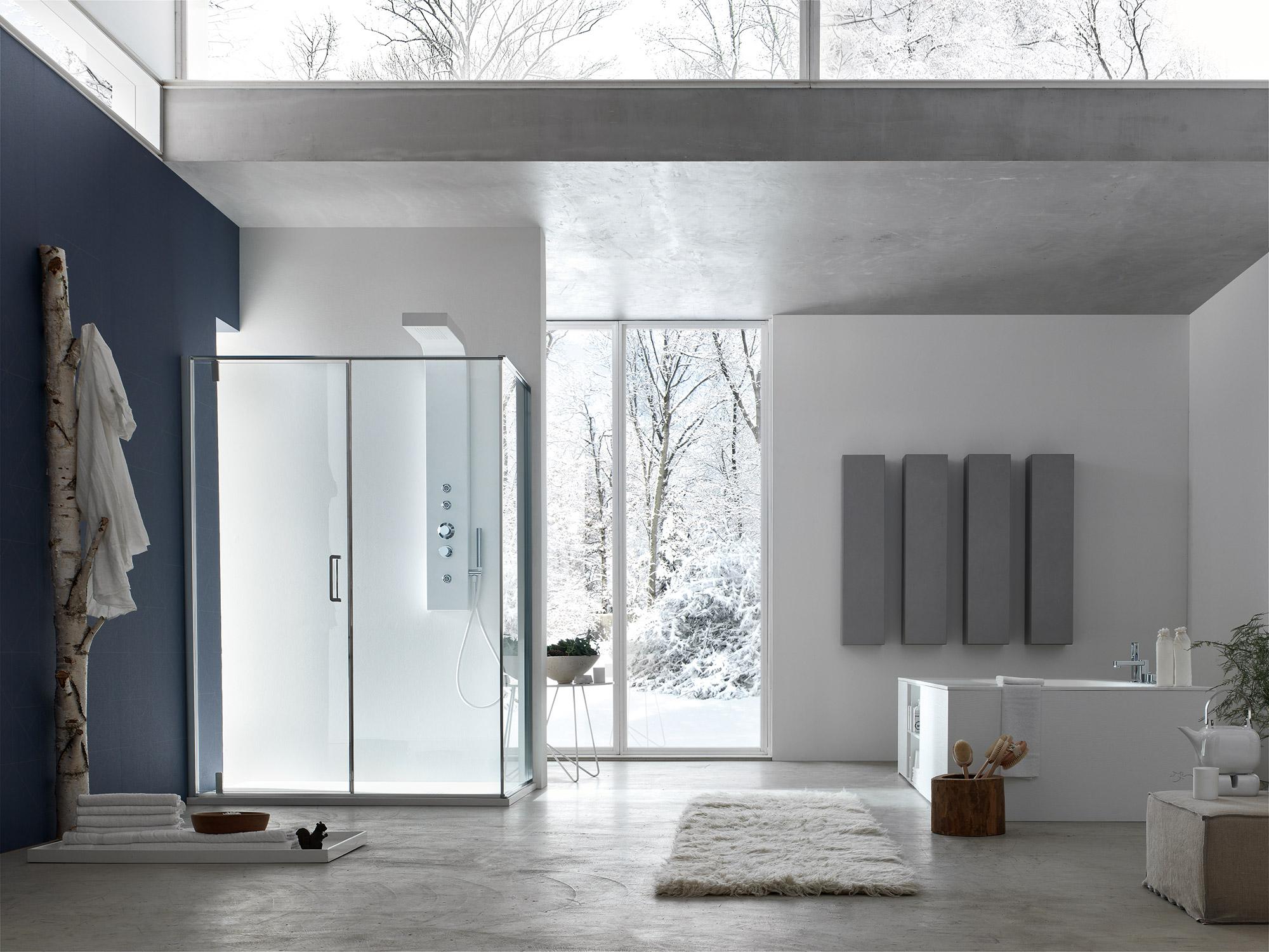 Arcom arredobagno - AKS living shower - S6