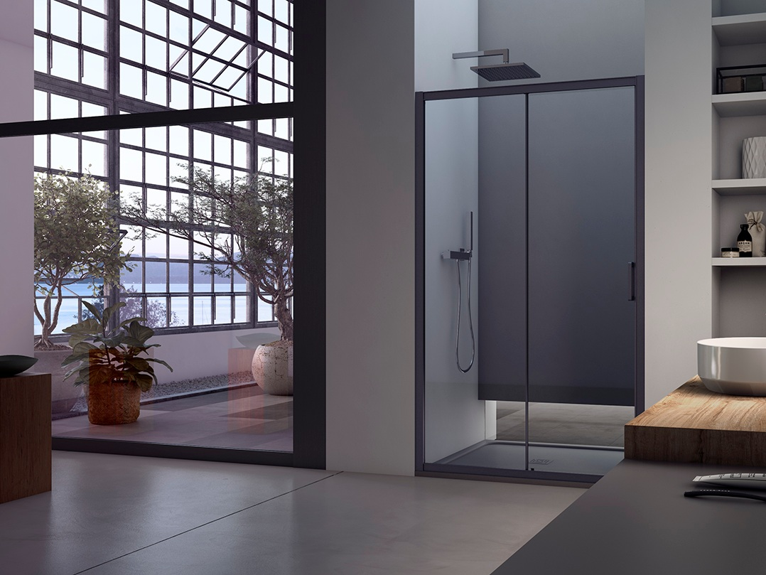 AKS - Il programma di chiusure doccia di Arcom pensato per soddisfare tutte le esigenze e per creare il total look con l'arredo bagno...