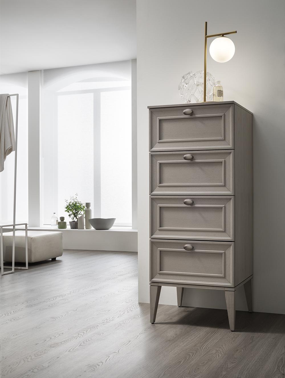 Settimini - La cassettiera è un arredo pratico ed elegante in ogni ambiente.