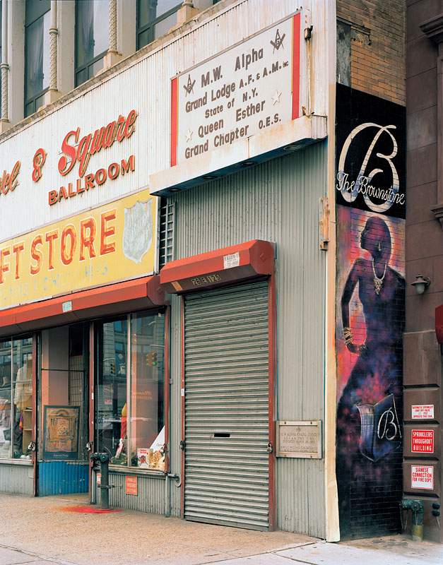 """5.  """"Queen Esther and The Brownstone"""" east of 5th Avenue, 2008"""