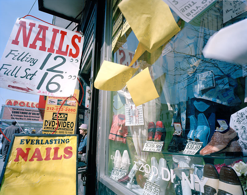 "6.  ""Everlasting Nails"" east of The Apollo Theater, 2009"