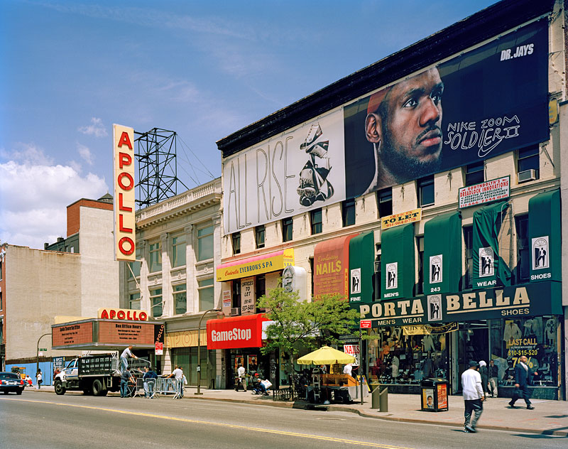 "7.   ""All Rise"" looking west to the Apollo Theater, 2008"