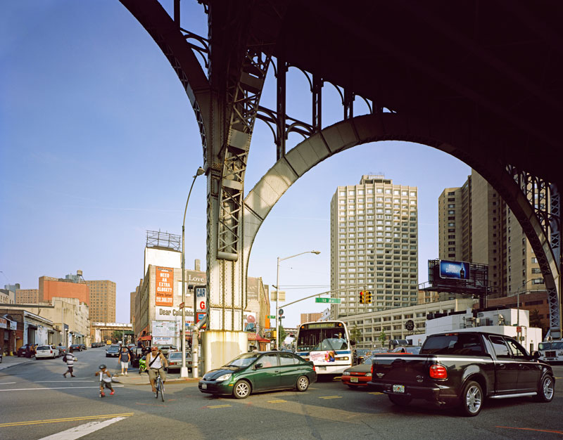 11.  12th Avenue looking east from under the Hudson Parkway, 2009