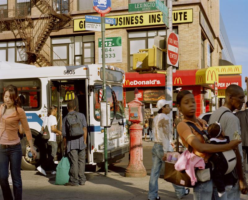 13.   Lexington Avenue northwest corner looking east, 2009