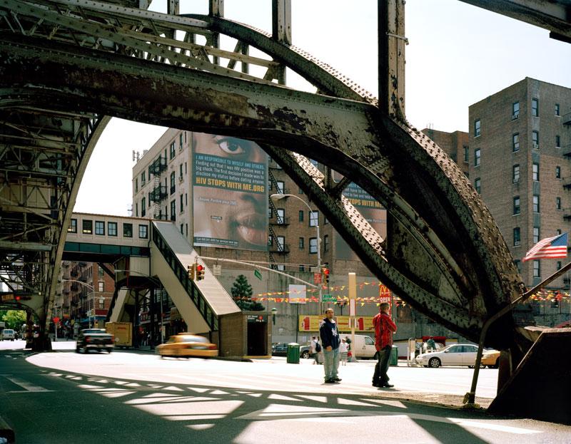 15. Southwest corner Broadway from under elevated 1 Train