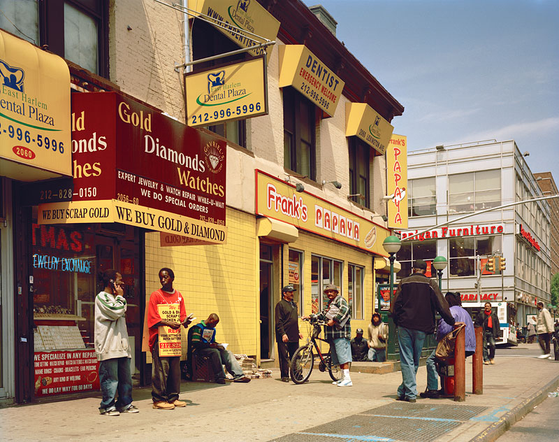 """19. """"Frank's Papaya"""" Lexington Avenue West, 2008"""