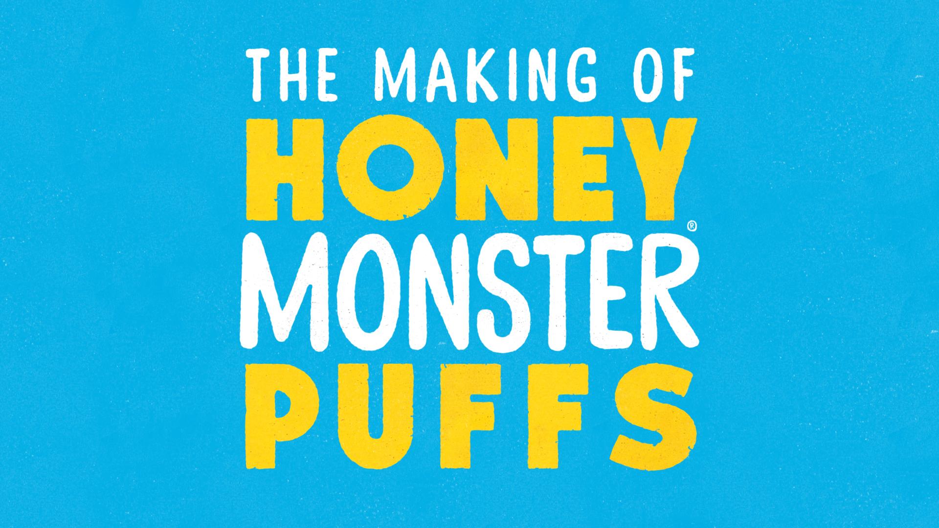 Honey Monster Puffs | Finn Communications