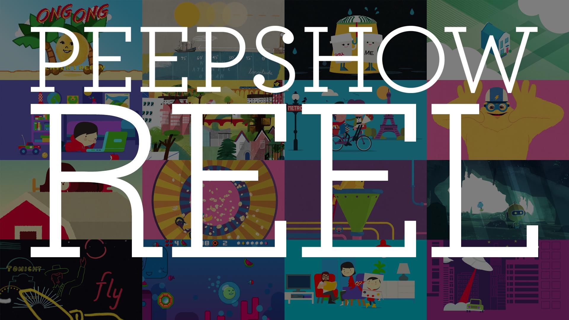 PeepShowReel | click to play